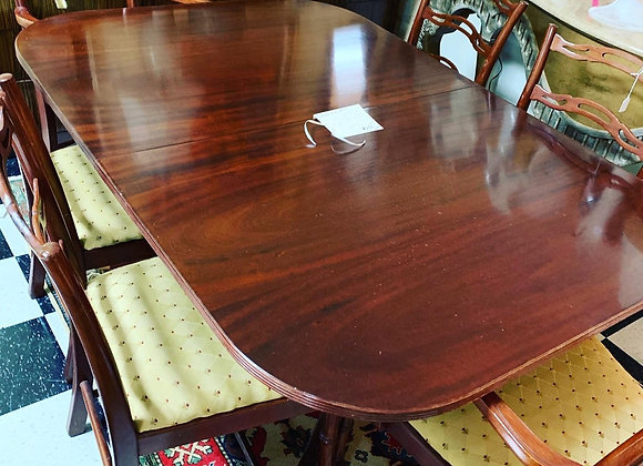 Dining Table, 11' table - George lll. Mahogany,