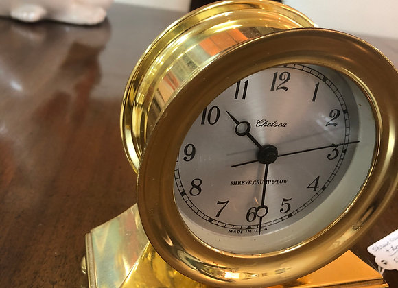 Shreve Crump and Low CHELSEA mantle clock.