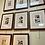 Thumbnail: Set of seven antique prints