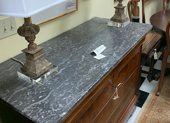 Antique marble top