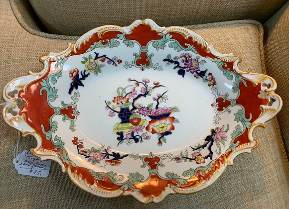 Antique Dish (hand painted)