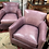 Thumbnail: 4 Leather Easy Chairs