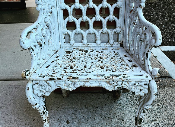 Pair of outdoor chairs, antique