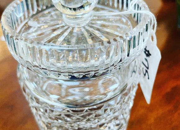 Waterford honey jar