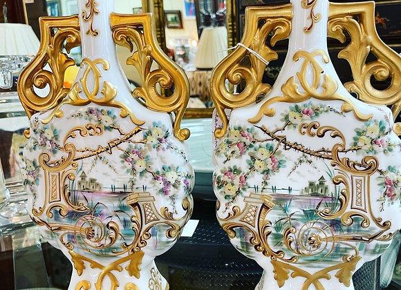 Antique pair of Vase