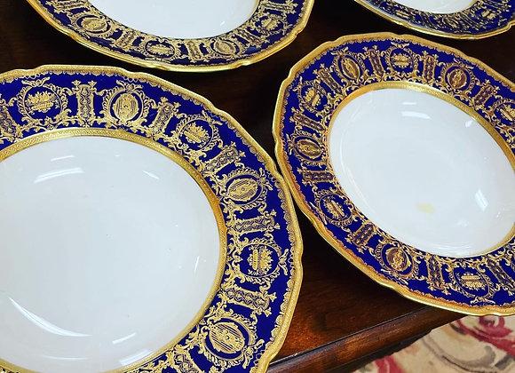 Soup bowls - lapis lazuli (6]