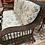 Thumbnail: Wicker couch, chocolate brown. Vintage. Cushions also.