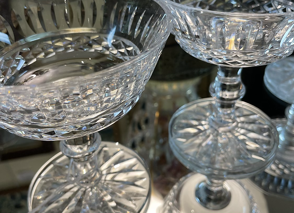 Lismore by Waterford champagne glasses