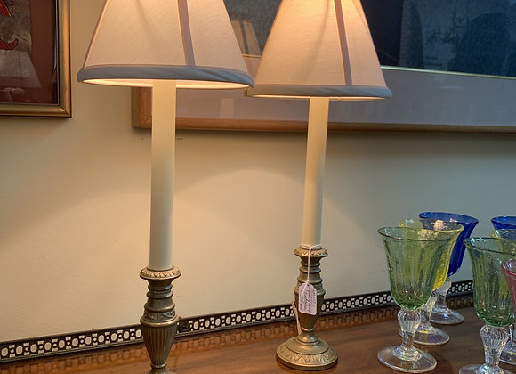 """Pair of lamps - 21"""" tall"""