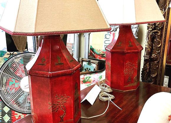 Tin lamps