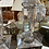 Thumbnail: Glass candle stick pair
