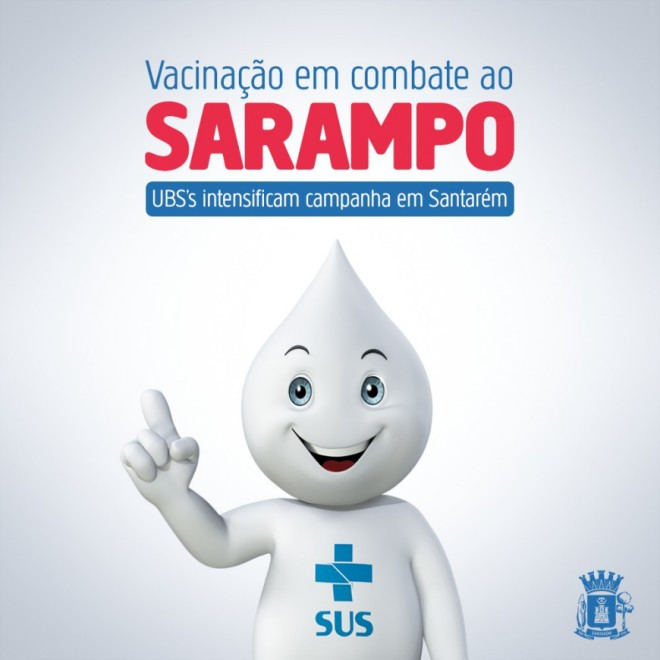 Não deixe o Sarampo se espalhar