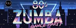 80s zumba dance party