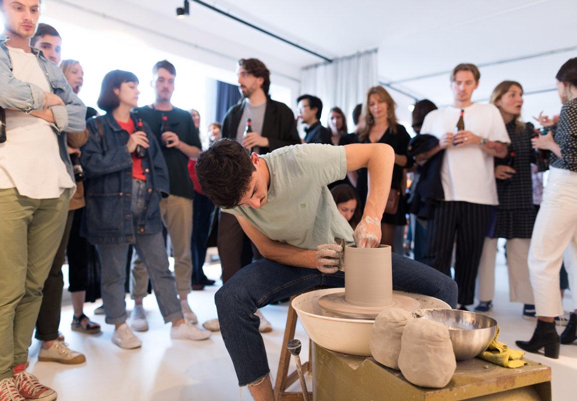 Perception ceramics exhibition Barcelona