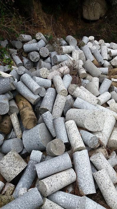 stone remnants