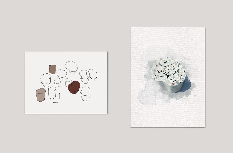 heartbreaker side table illustration sanna völker