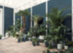 podium plant pot