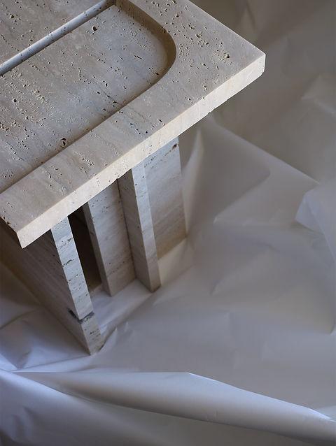 roman travertine design
