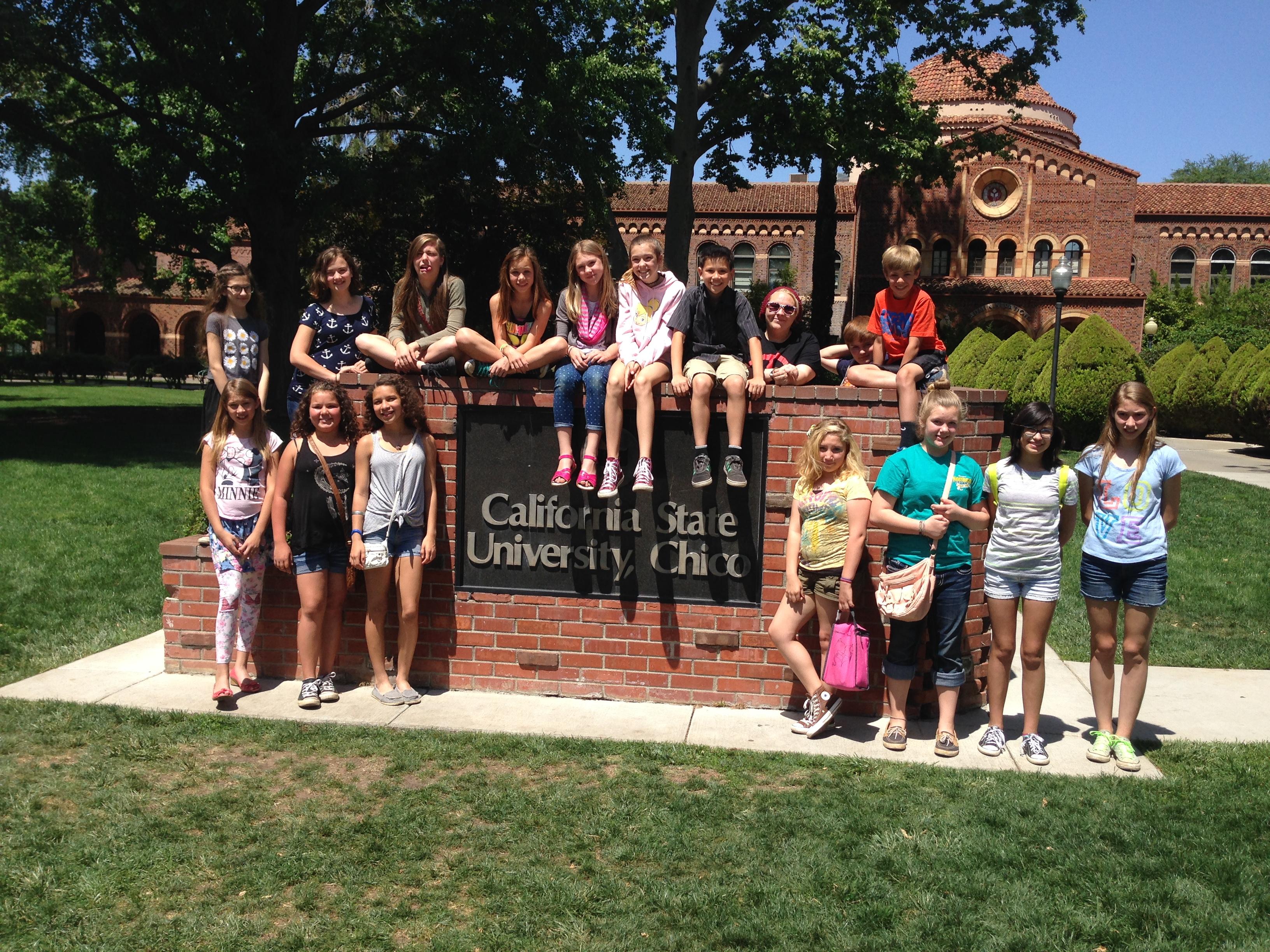 Chico State University, College Tour