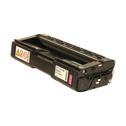 Cartucho Compatível de Toner Ricoh Aficio SP C232 C242 Magenta (6K)