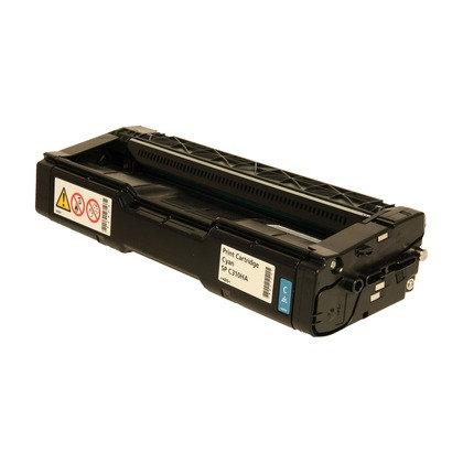Cartucho Compatível de Toner Ricoh SP C252 C262 Cyan (6K)