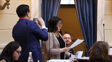 Senator Iwamoto Recognizes the League of Women Voter's 100th Anniversary