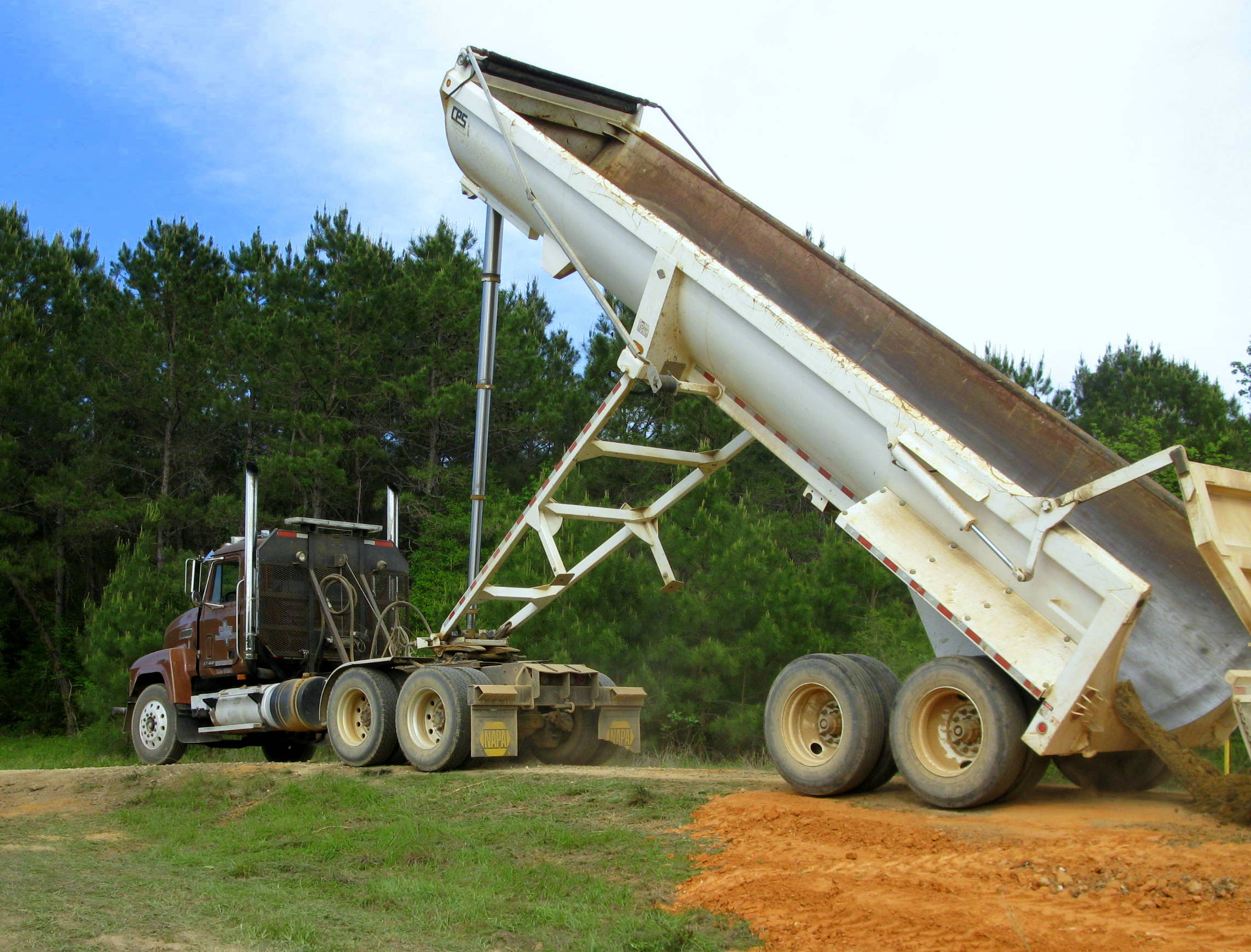 Large equipment for big jobs