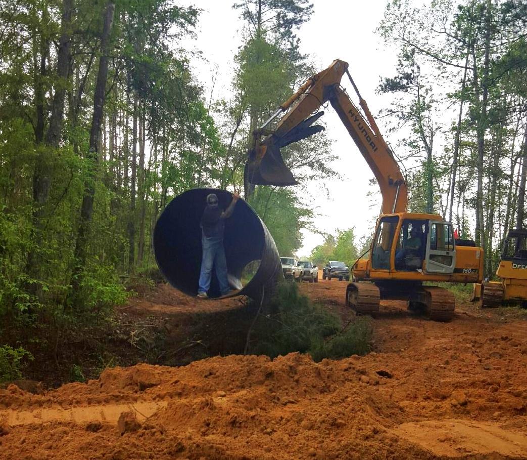 Installing a Giant Culvert