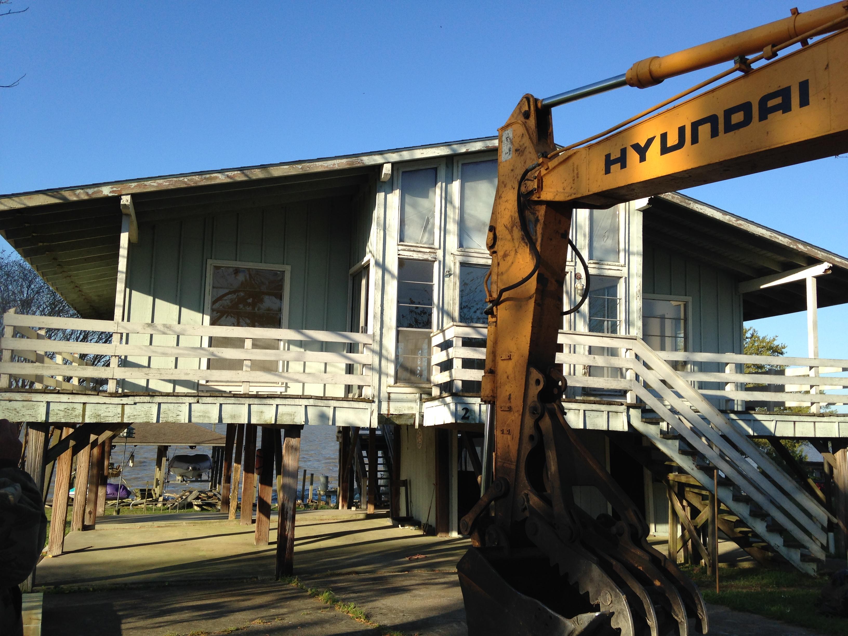 Quick work of demolition