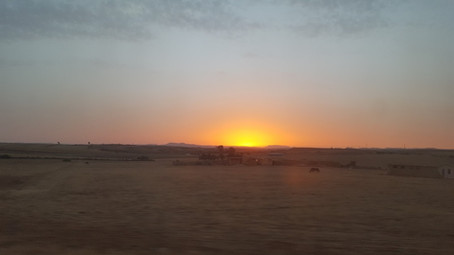 the overnight train to tangier