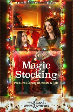 Magic Stocking - Coastal Script Clearanc
