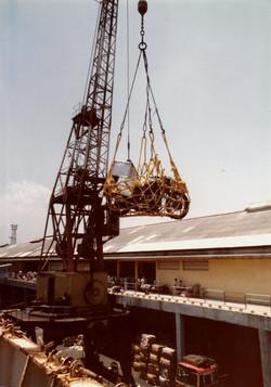 27. loading bike off boat_india