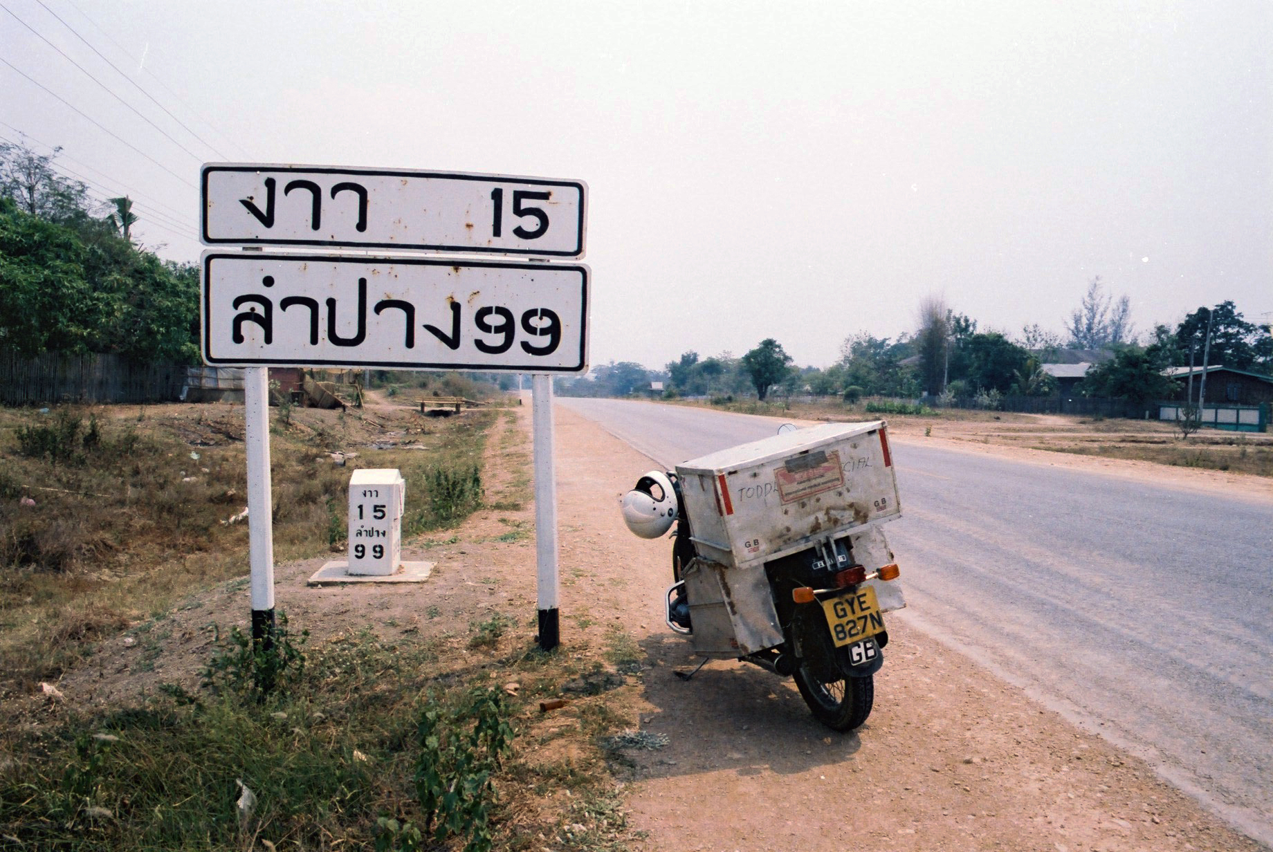 24. Thailand road signs