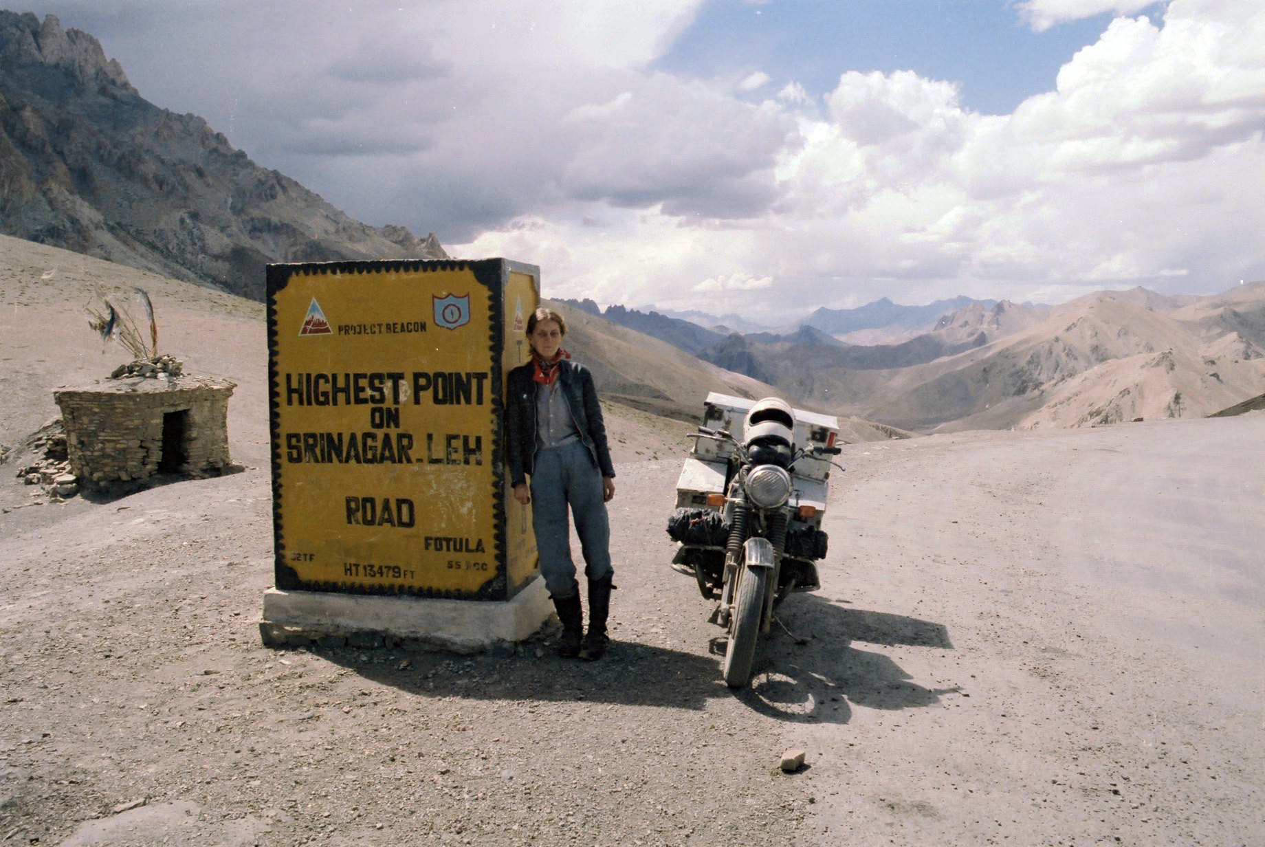 51 .Highest point Road to Leh- Ladakh