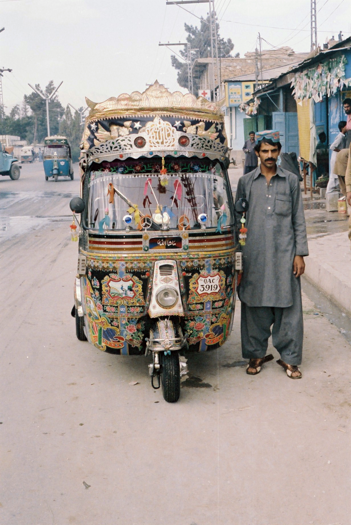 60. Taxi driver Quetta Pakistan