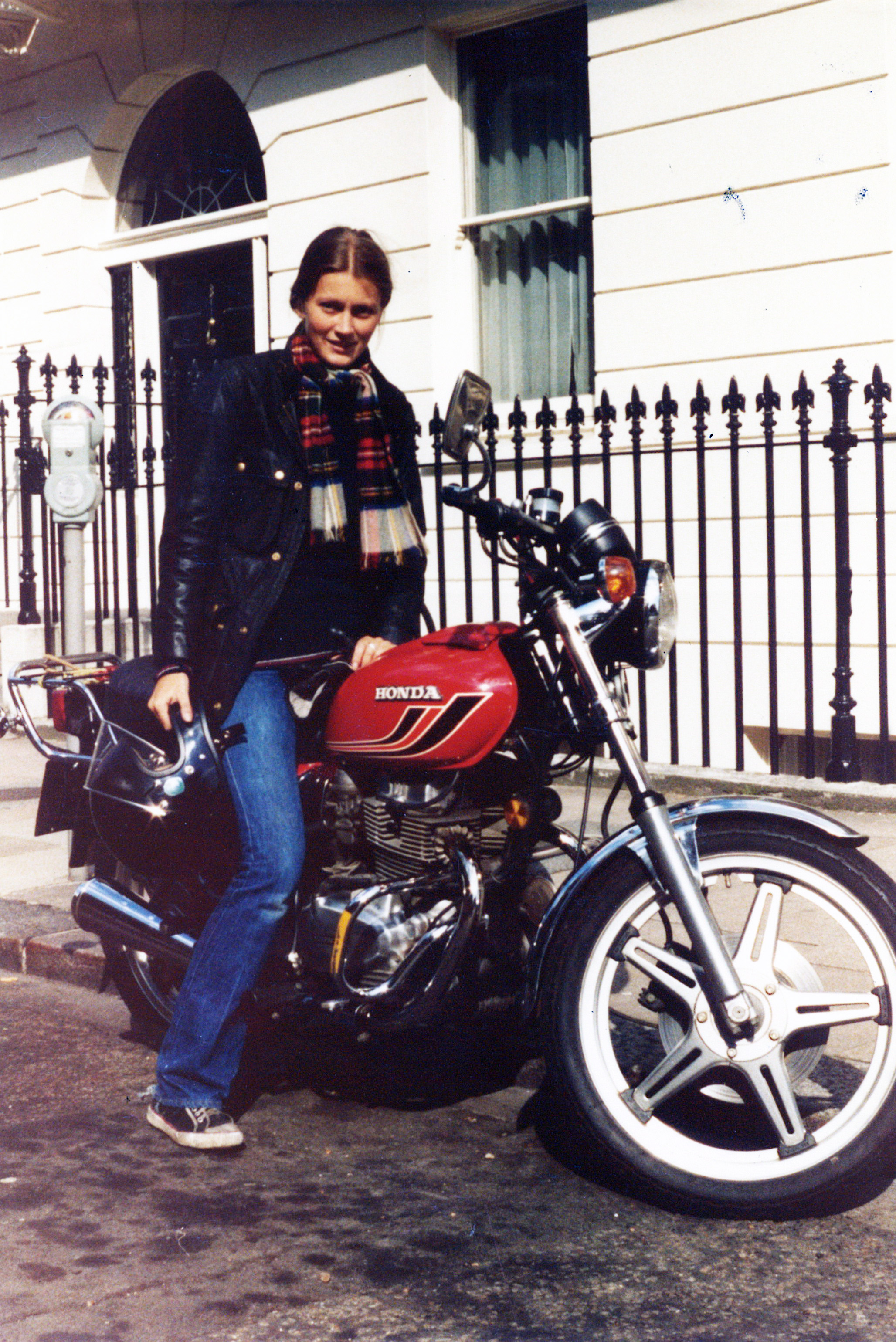 Elspeth Beard Second Bike 1979