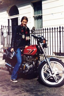 Elspeth Beard Second Bike 1979