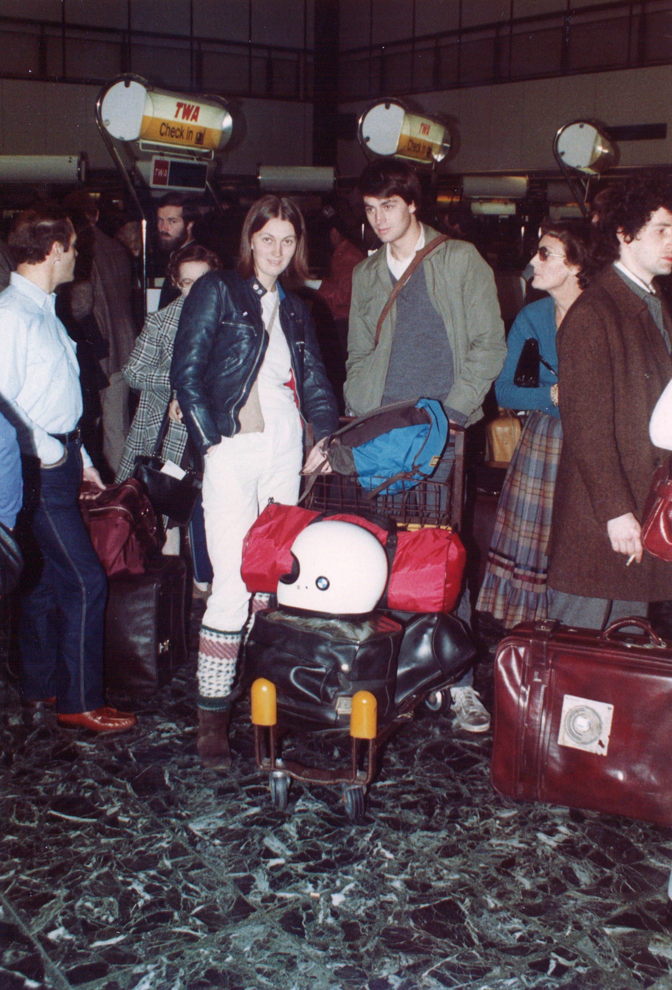 3b. 1982 Airport departure 3