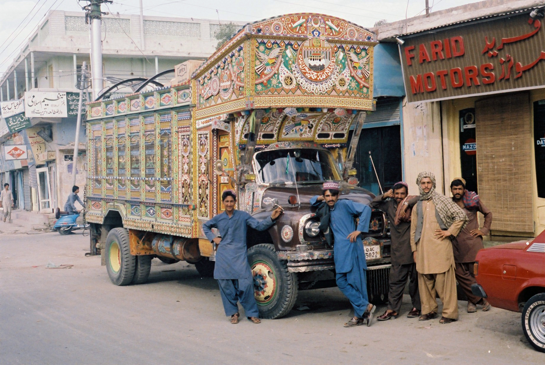 61. Pakistan Truck Quetta