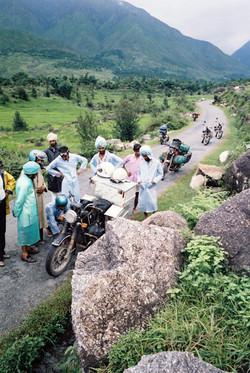 47. After hitting cow - Himachal Pradesh