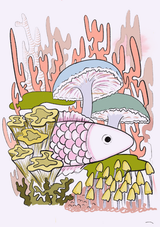 cotton candy fish