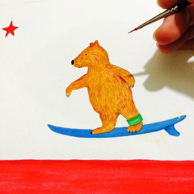 do you love me, do you, surfer bear...jp