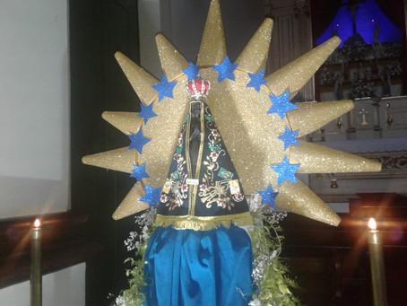 Início do tríduo e da grande festa a Nossa Senhora Imaculada Conceição de Aparecida