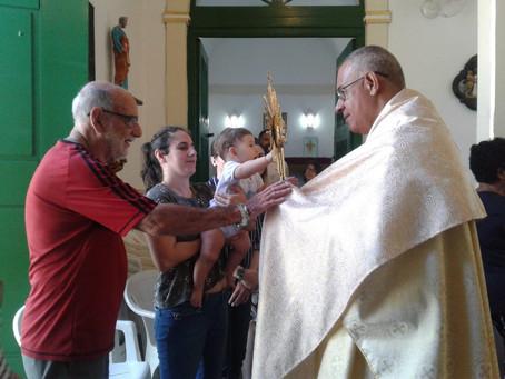 Terceiro dia do Tríduo - Missa dos Enfermos com Bênção do Santíssimo - Café da manhã compartilhado