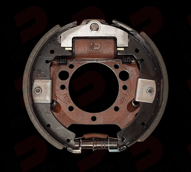 "8K HYDRAULIC BRAKE ASSEMBLY DUO SERVO RIGHT 12-1/4""X3-3/8"""