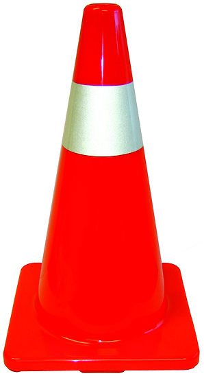 "28"" ORANGE SAFETY CONE"