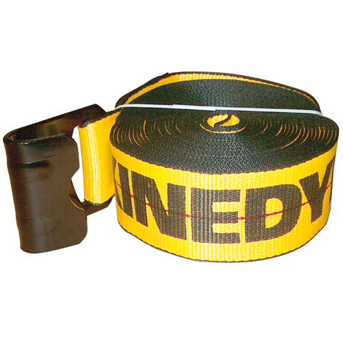 """3"""" STRAP WITH FLAT HOOK 30' CAPACITY: 5,400 LBS"""