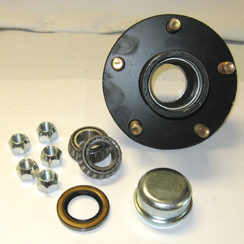 "HUB KIT 2K 5-4.5"" 1"" SPINDLE"