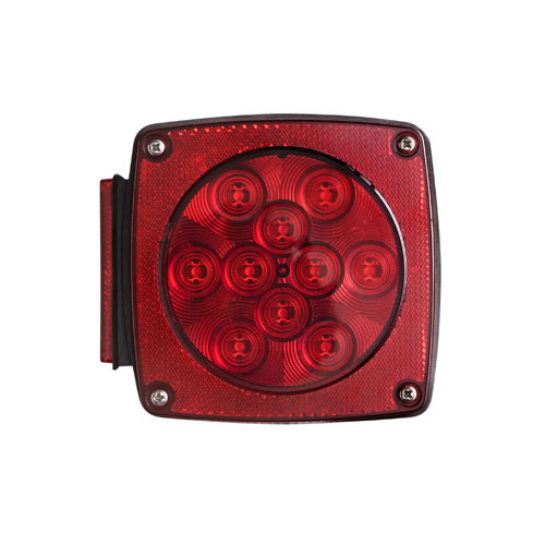 LED TAIL LIGHT RED LEFT 16 + 5 DIODE