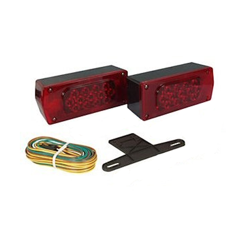 LED TAIL LIGHT KIT FOR OVER 80""